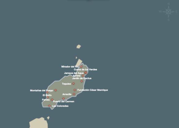 Cartina Lanzarote.Lanzarote Lg Studio Foto Di Viaggio E Per Passione