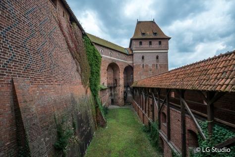 Veduta del Castello di Malbork.