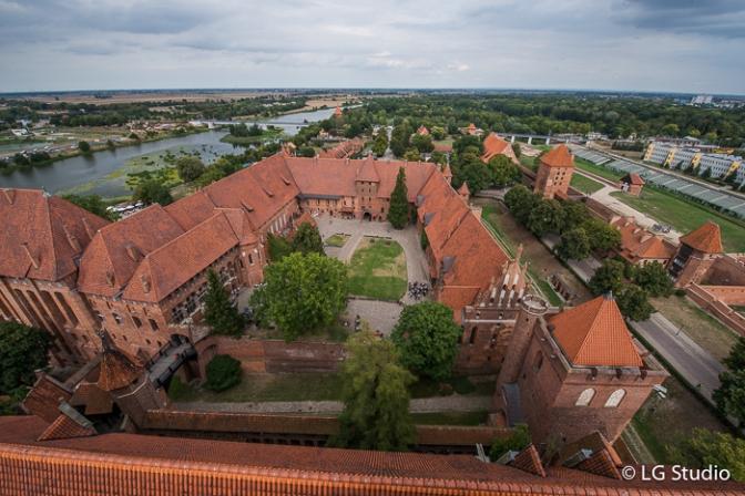 Il Castello di Malbork: la fortezza più imponente d'Europa