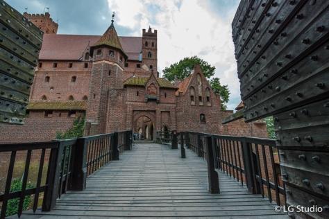 Ingresso al Castello di Malbork.