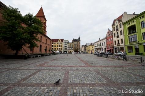 Piazza del mercato della città nuova.