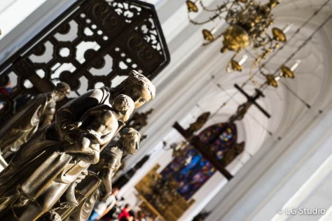 Interni della Chiesa di Santa Maria.