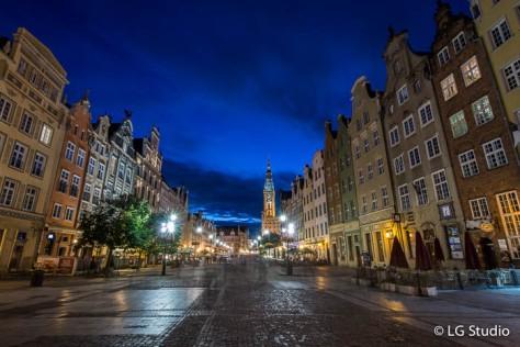 Danzica, centro storico.