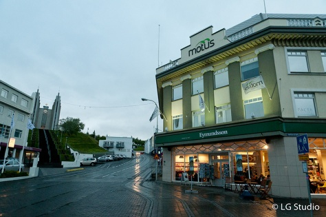 Akureiry City Center Iceland