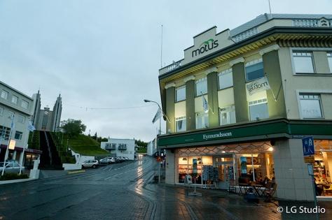 Akureiry City Center Iceland