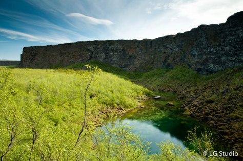 Il canyon di Asbyrgi